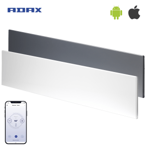 ADAX NEO WIFI Modern Electric Skirting Heater, Home Automation Heating, IPX4, LOT 20