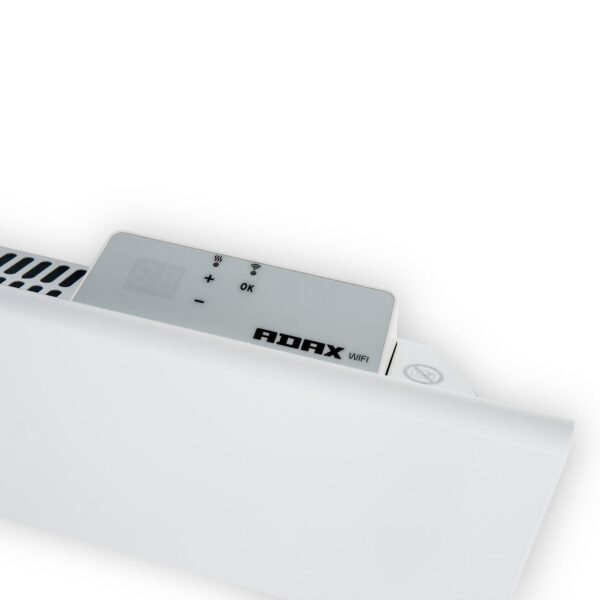 ADAX NEO WIFI Modern Electric Wall Heater, Home Automation Heating, IPX4, LOT 20 Reg Compliant