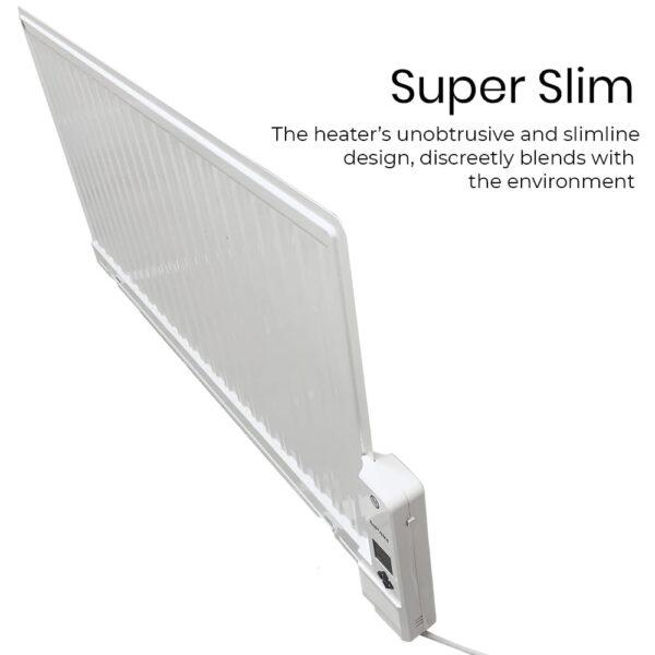 Celsius Slim Oil-Filled Electric Radiator + Timer & Thermostat. Portable