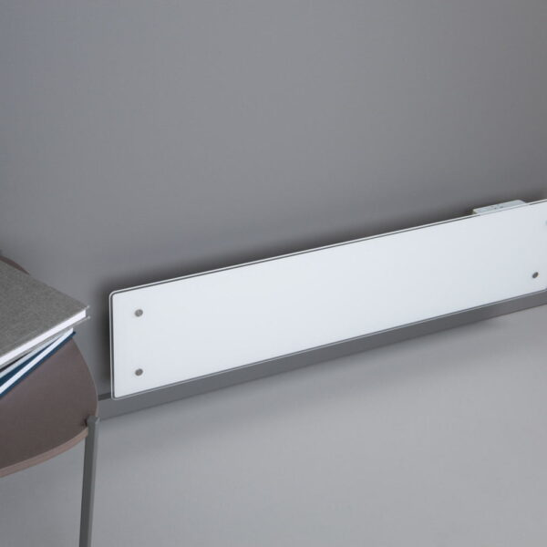 ADAX CLEA WIFI GLASS Electric Skirting Heater, Home Automation Heating, IPX4, LOT 20