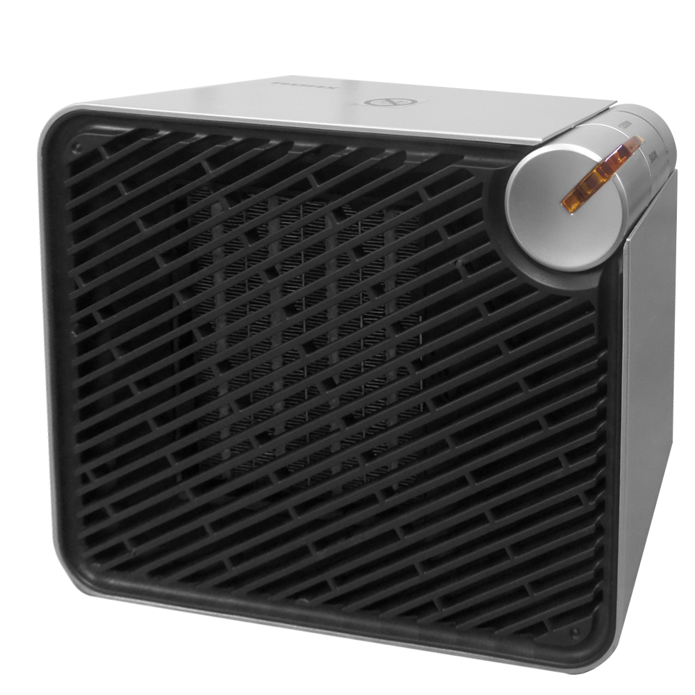 ADAX VV22 Small Portable Electric Fan Heater With Thermostat, 900W / 1200W
