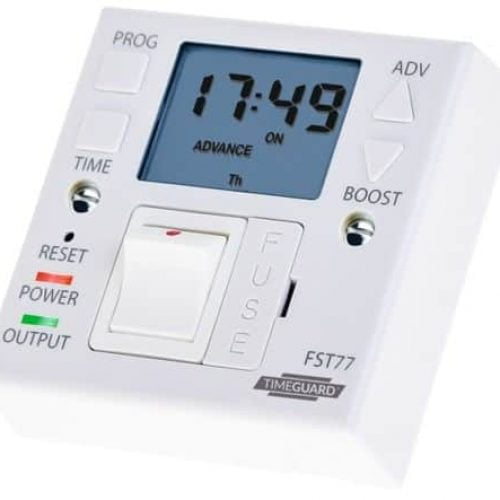 TimeGuard Fused Spur Timer / Timeswitch – FST 77A (24 Hour 7 Day) Electric Appliances