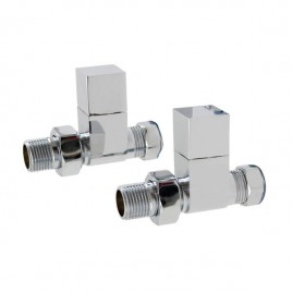 Straight Square Valves For Central Heating And Dual Fuel Towel Rail Radiator