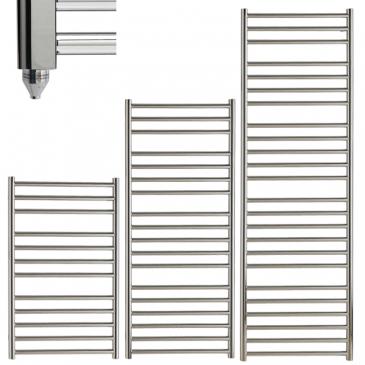 BRADDAN Stainless Steel Modern Towel Warmer / Heated Towel Rail – Electric