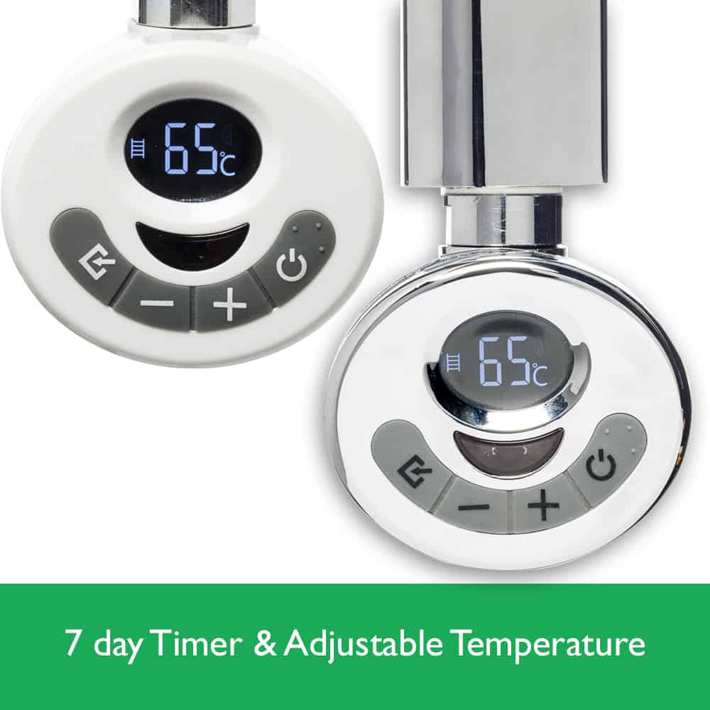 R3 thermostatic electric heating element timer remote - Electric bathroom radiators with timer ...