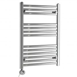 The Crosby Heated Towel Rail Thermostatic Electric
