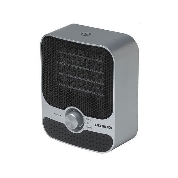 Compact Ceramic PTC Fan Heater 600 – 1200 Watts