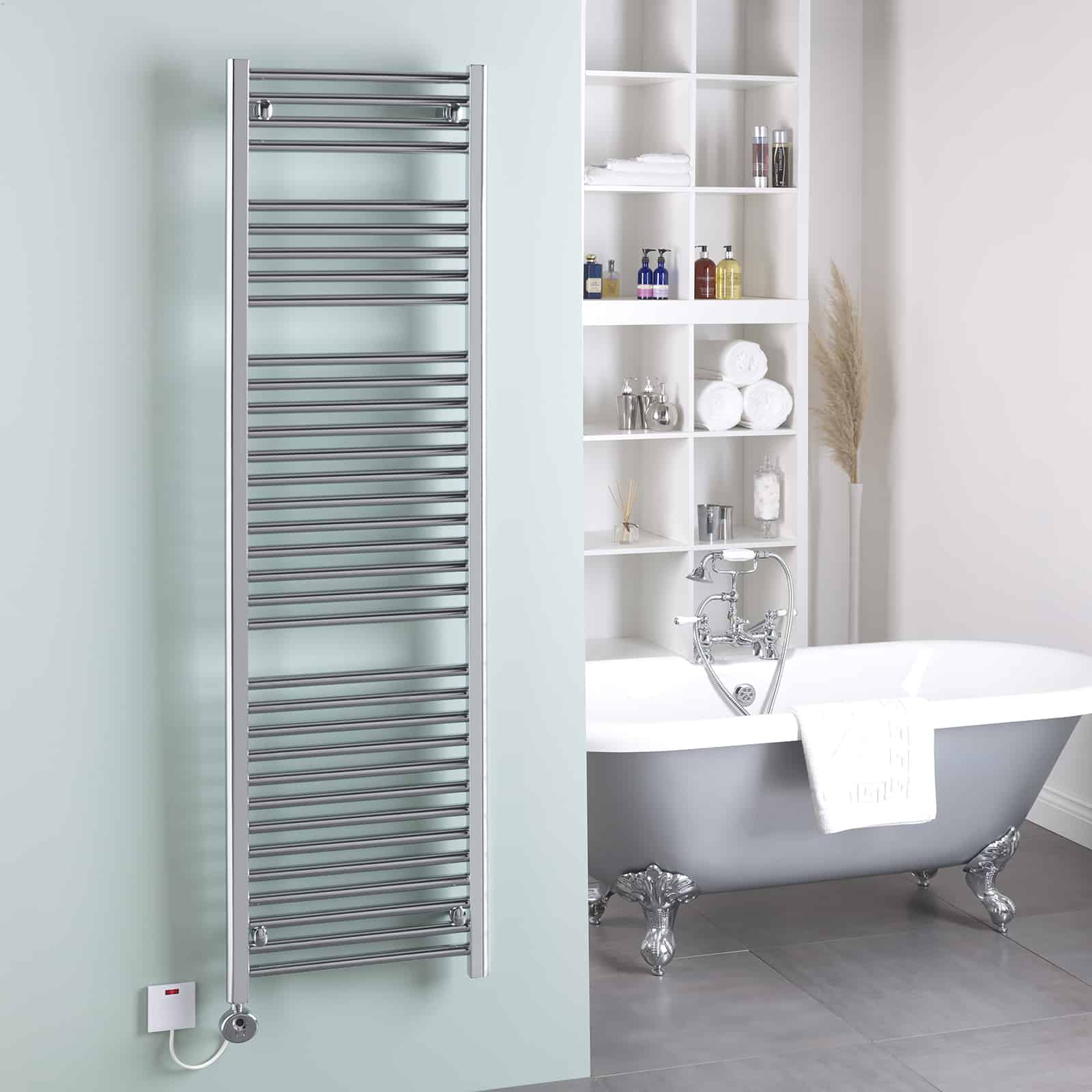 how to use electric towel rail