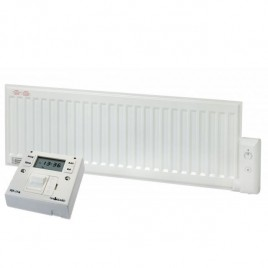 ADAX Oil-Filled Low Profile Skirting Electric Radiator with Fused Spur Timer 3
