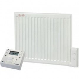 Adax Oil Filled Electric Radiator With Fused Spur Timer