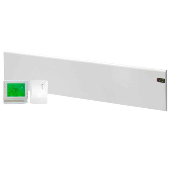 ADAX Neo Low Profile Skirting Electric Convection Panel Heater with PR-1 Wireless Timer & Room Stat 3