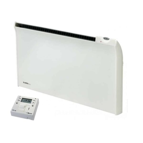 Adax Norel TPVD Bathroom Safe Tamper Proof Electric Panel Heater with Fused Spur Timer 2
