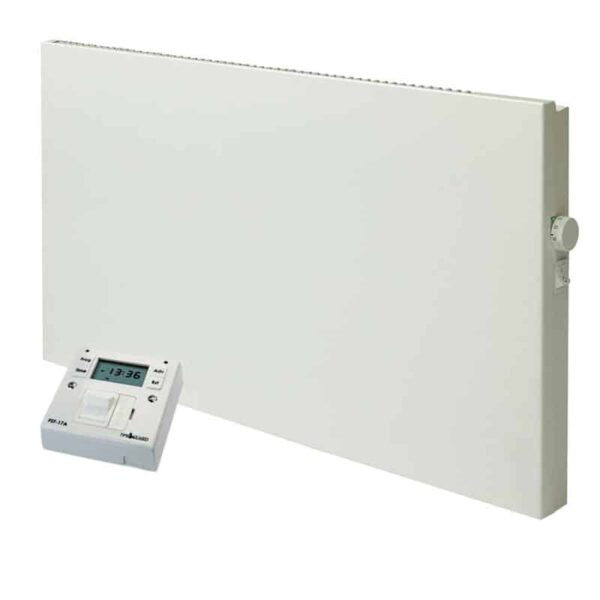 ADAX VP11 Electric Panel Heater / Convector Radiator, Wall Mounted + Fused Spur Timer