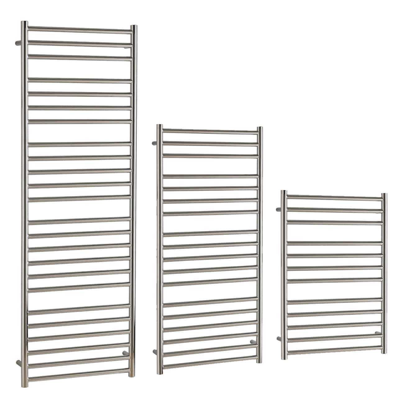 BRADDAN Stainless Steel Modern Towel Warmer / Heated Towel Rail – Central Heating