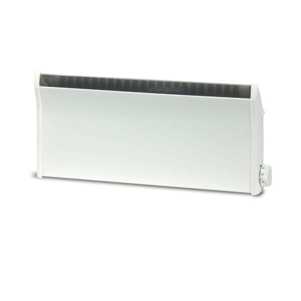 Adax Norel Electric Thermostatic Low Profile / Skirting Panel Heater with Fused Spur Timer 3