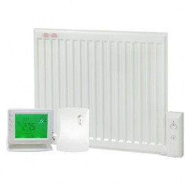 Adax Oil Filled Electric Radiator With Wireless Timer