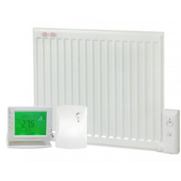 ADAX Oil-Filled Electric Radiator with PR-1 Wireless Timer & Room Stat 1