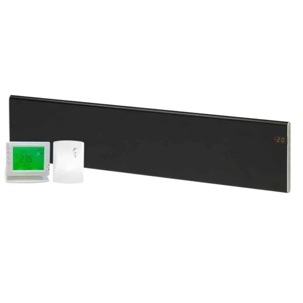 ADAX Neo Low Profile Skirting Electric Convection Panel Heater with PR-1 Wireless Timer & Room Stat 4