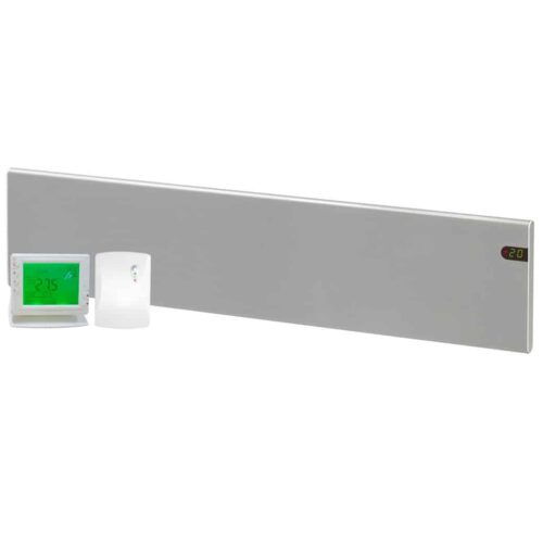 ADAX Neo Low Profile Skirting Electric Convection Panel Heater with PR-1 Wireless Timer & Room Stat 1