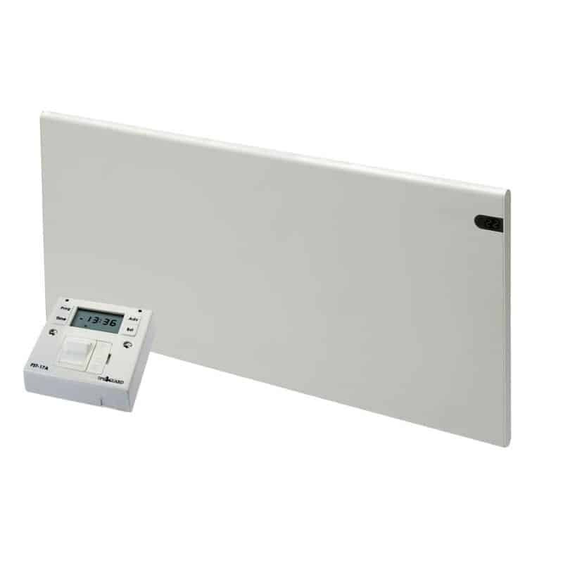 ADAX Neo Electric Panel Convection Heater with Fused Spur Timer 1