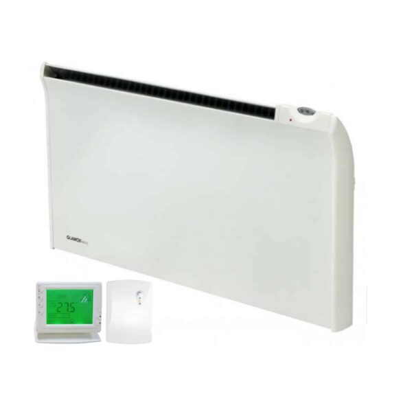 Adax Norel TPVD Bathroom Safe Tamper Proof Electric Panel Heater with PR-1 Wireless Timer & Room Stat 1