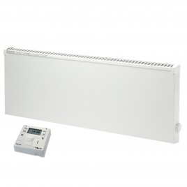Adax VPSL Low Surface Temperature Electric Convection Radiator with Fused Spur Timer