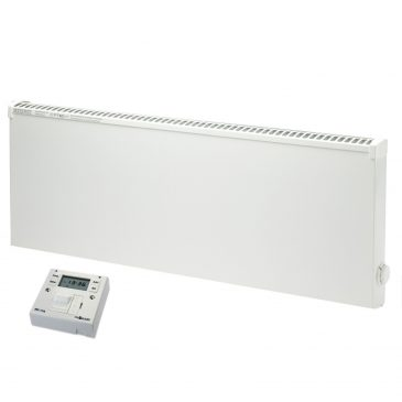 Adax VPSL Low Surface Temperature Electric Convection Radiator with Fused Spur Timer 1