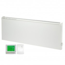 Adax VPSL Low Surface Temperature Electric Convection Radiator with PR-1 Wireless Timer & Room Stat