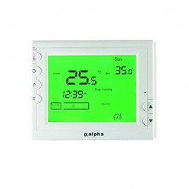 Wireless Digital Room Thermostat & Timer for Sol*Aire Alpha