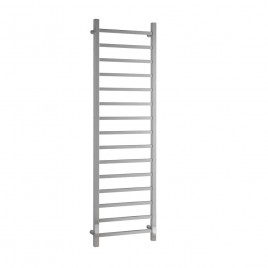 Chrome Central Heating Towel Rail - Ballaugh Square Tube