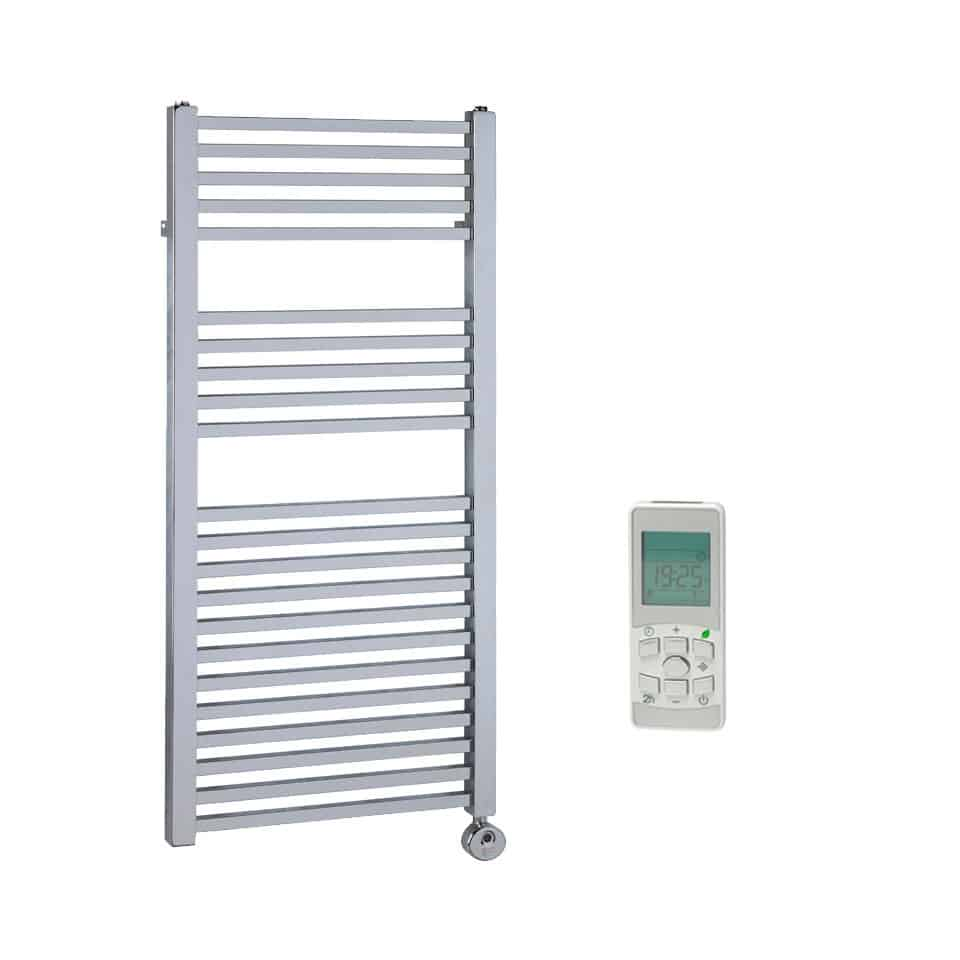 Heated Towel Rail Timer Wiring Diagram: LAUREL Square Tube Heated Towel Rail / Warmer, Chrome