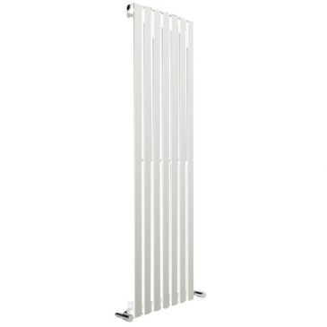 Hailwood Vertical Decorative Wall Mounted Radiators for Central Heating White 1
