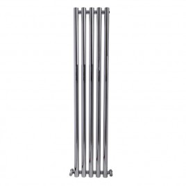 Mountain Vertical Designer Wall Mounted Radiator for Central Heating Chrome 1