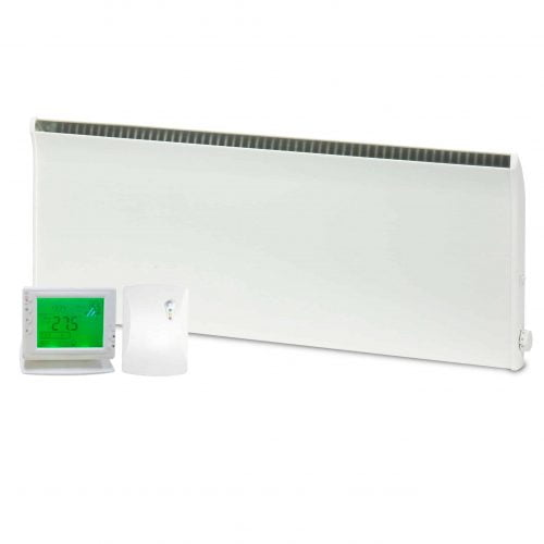 Adax Norel Electric Thermostatic Panel Heater with PR-1 Wireless Timer & Room Stat 1