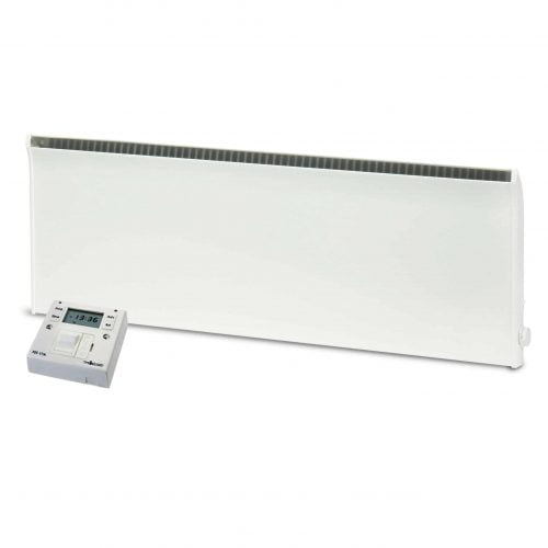 Adax Norel Electric Thermostatic Panel Heater with Fused Spur Timer 1