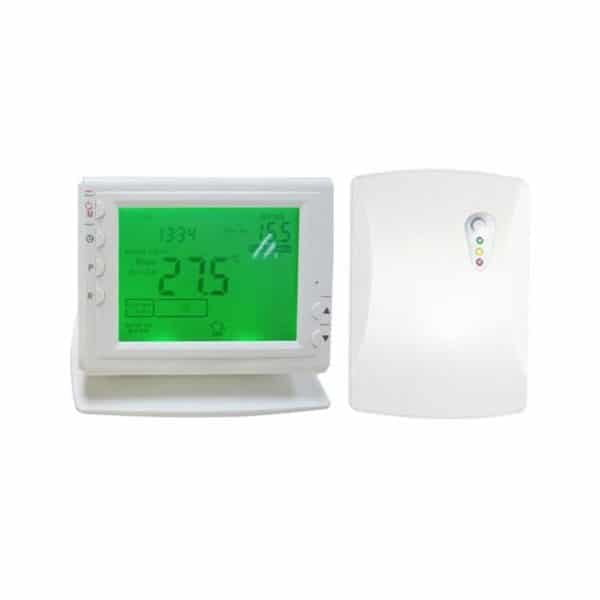 PR1 Wireless Digital Timer 24/7 & Thermostat for Electric Heating Appliances, Heated Towel Rails, Designer Radiators