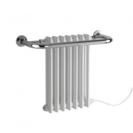 Parliament Traditional Victorian Radiator With Towel Rail Electric Ptc