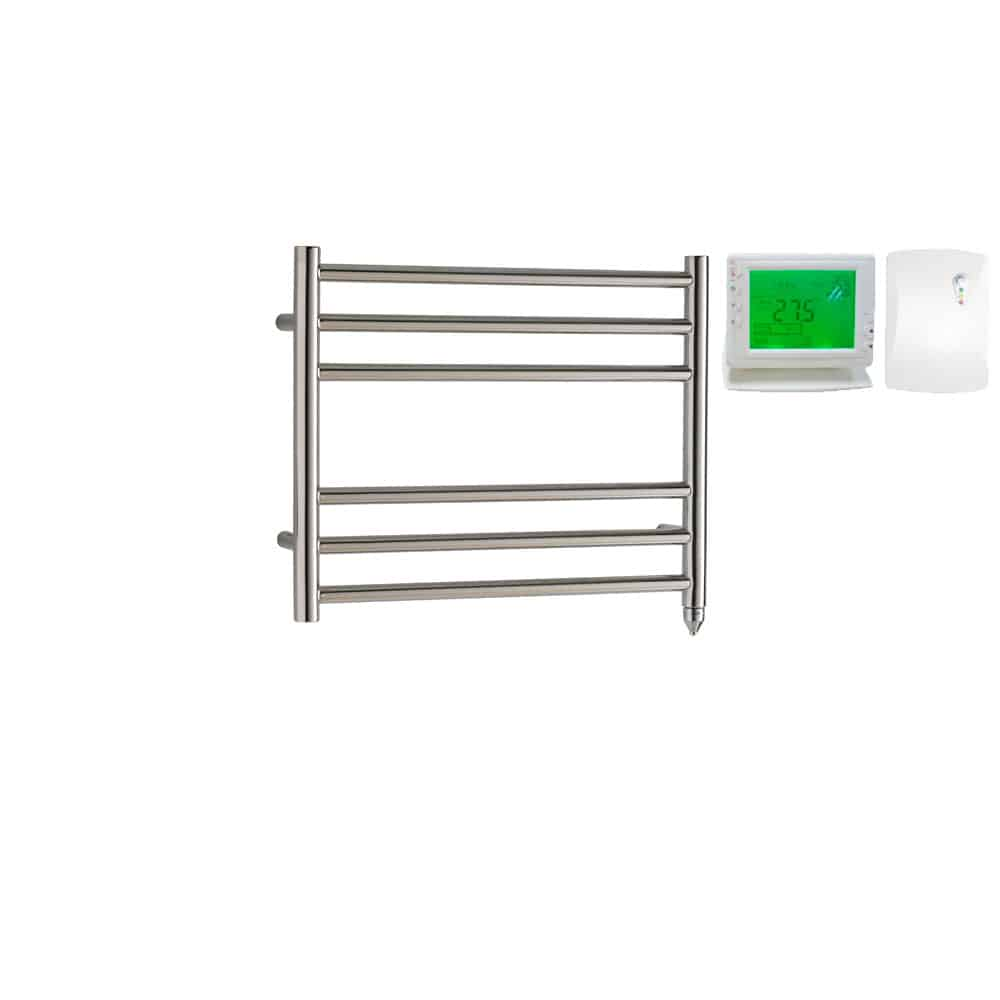 Heated Towel Rail Timer Wiring Diagram: Braddan Stainless Steel Electric PTC Heated Ladder Towel