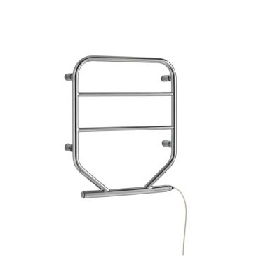 Union Low Power Towel Rail Slimline – Chrome or White 1