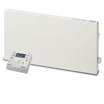 Adax VP10 Electric Convection Panel Heater with Fused Spur Timer 1