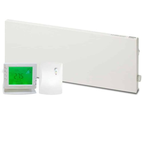 Adax VP10 Electric Convection Panel Heater with PR-1 Wireless Timer & Room Stat 1