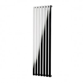 Hailwood Vertical Decorative Wall Mounted Radiator For Central Heating Chrome