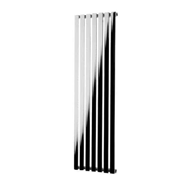 Hailwood Vertical Decorative Wall Mounted Radiators for Central Heating Chrome 1