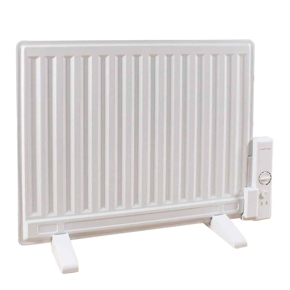 Oil-Filled Electric Radiator / Radiant Heater, Wall Mounted or Portable
