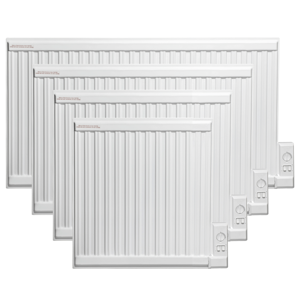 Slim Line Wall Mounted Electric Oil Filled Radiator Heater