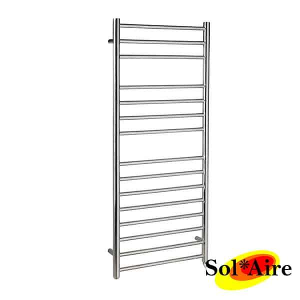650x400mm Electric Straight Heated Towel Rail: 400 X 1200 Straight Stainless Steel Heated Towel Rail