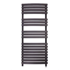 The Greeba Anthracite Designer Heated Towel Rail: Electric PTC