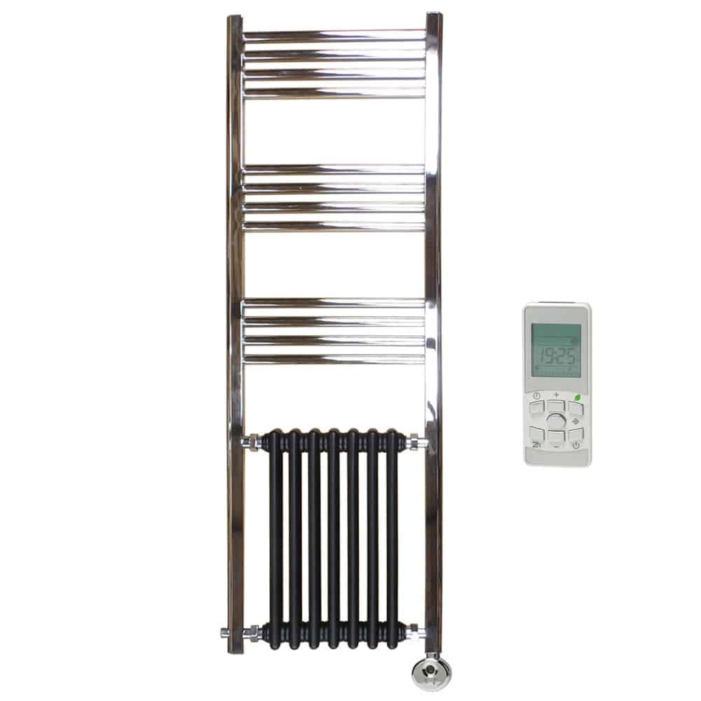 Heated Towel Rail Timer Wiring Diagram: DUKE Traditional Victorian Heated Towel Rail Radiator
