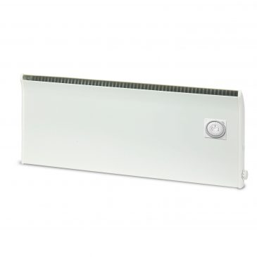 NOREL PM Electric Panel Heater / Convector Radiator, Wall Mounted + Built-In Timer, Thermostat
