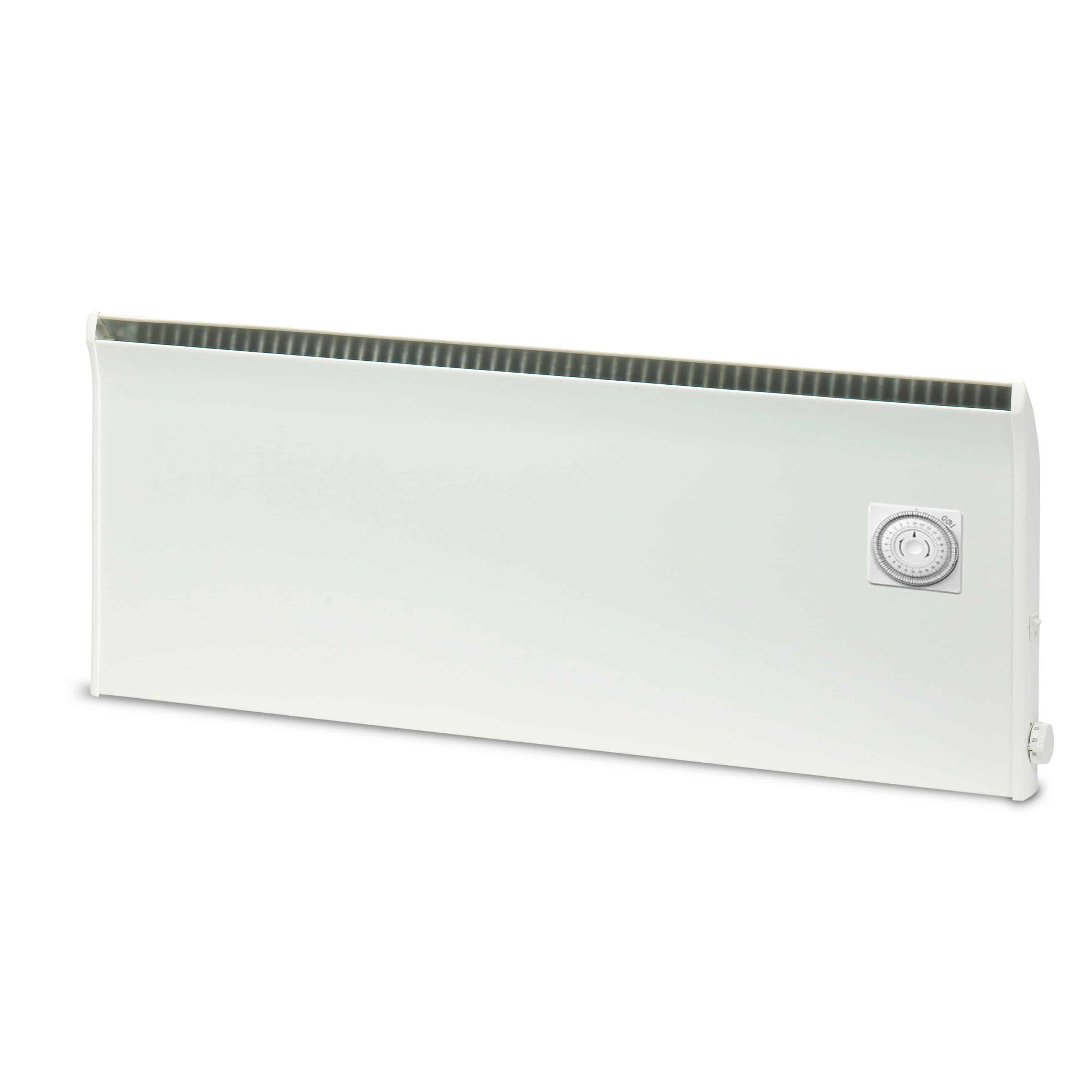 Slimline electric heaters wall mounted - Norel Pm Electric Panel Heater Convector Radiator Wall Mounted Built In Timer